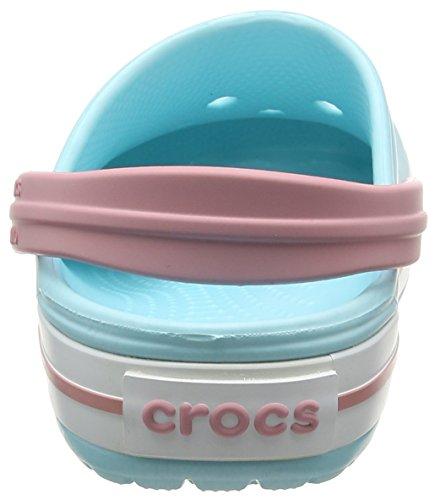 Crocs Crocband - Sabots - Mixte Adulte Bleu (Ice Blue/white)