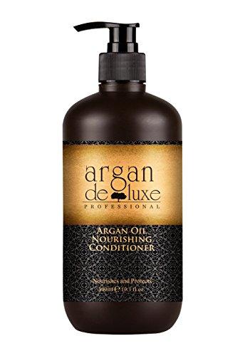 Arganöl Conditioner in Friseur-Qualität ✔ stark pflegend ✔ Geschmeidigkeit, Glanz, toller Duft ✔ Argan DeLuxe, 300ml