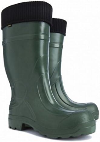 demar – Botas de agua ultra luz verde botas para hombres Predator talla XL 12 UK (tamaño europeo 46)