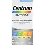 Centrum Advance Multivitamin Tablets, Pack of 100