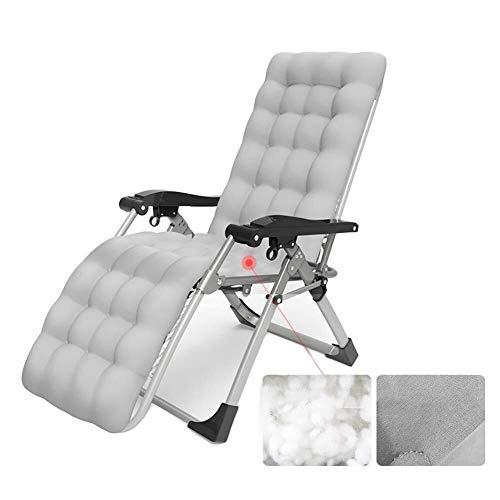 Wicker Deck (DQCHAIR Liegestühle Schwerelosigkeit Patio Deck Chair Reclining Gartenstuhl Outdoor Klappbarer tragbarer Schaukelstuhl Unterstützt 200kg (Color : Style 3))