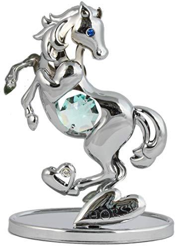 Cavallo A Dondolo Swarovski.Animale Statuina Cavallo Swarovski Grandi Sconti Swarovski