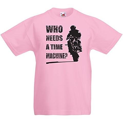 La camiseta de los niños ropa de la motocicleta