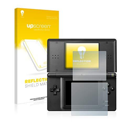 upscreen Entspiegelungs-Schutzfolie kompatibel mit Nintendo DS LITE - Anti-Reflex Displayschutz-Folie Matt