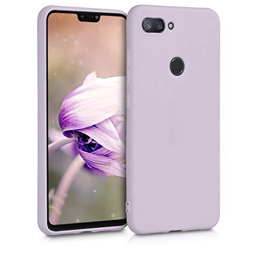 kwmobile Funda per Xiaomi meu 8 Lite - Carcassa per a mòbil en [silicona TPU] - protector [posterior] a [Lila]
