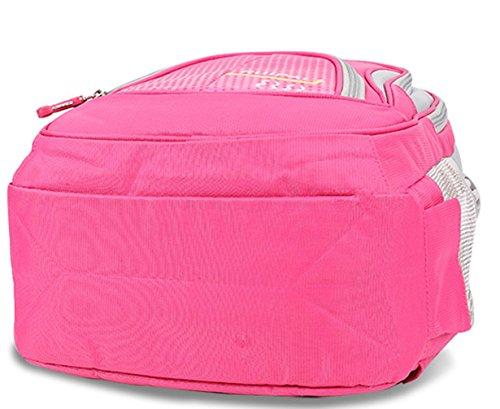 Cool Damen accessories hohe Qualität Einfache Tasche Schultertasche Freizeitrucksack Tasche Rucksäcke Rosa Keshi G3HRnAyn