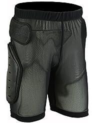 MCW - Pantalones Cortos 'Body Armour' de Protección para Motocross, Esquí, Skating, Snowboard para Hombre - Grande