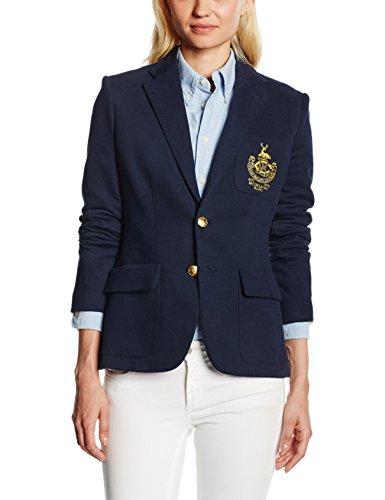polo-ralph-lauren-womens-custom-jacket-blazer-blue-blau-aviator-navy-a4d45-manufacturers-size-6