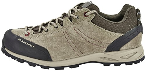 Mammut Wall Low Women (Backpacking/Hiking Footwear (Low)) dark taupe-amarante