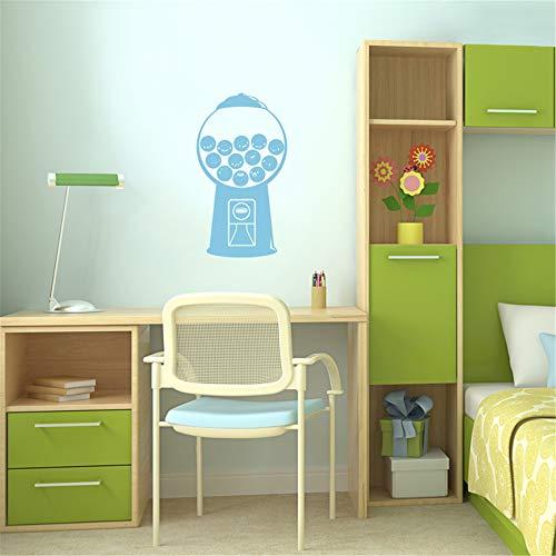 Wandtattoo Kinderzimmer Gumball-Maschine für Wohnzimmer-Schlafzimmer-Kindergarten scherzt Schlafzimmer - Gumball Maschinen