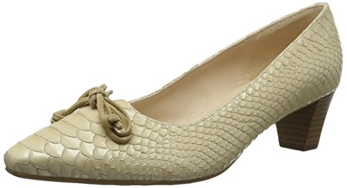 Peter Kaiser Damen Stephanie Pumps, Beige (Sabbia Birman Suede 989), 35 EU