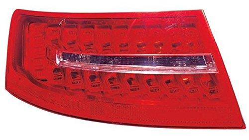 Voyant arrière gauche Aud. a6 berline (08- > 10) sans douille Blanc Rouge LED extérieur