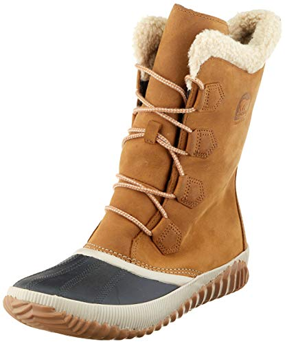 Sorel out N About Plus Tall, Botas Impermeables para Mujer, Marrón (Elk 286), 38 EU