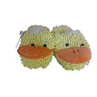 Cute Cosy Duck Pair of Slippers Soft Snug Snuggle Foot Warmer Winter XMAS GIFT