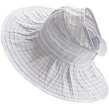 Gorro Sombrero De Sol Sombrero De Paño Visera Plegable De Playa Verano Para  Mujeres 166782e6a9e