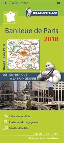 Banlieue de Paris : Du priphrique  la Francilienne. 1/53 000