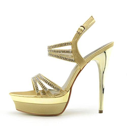 Comprar Zapatos Dorados De Fiesta NO LO HAY MAS BARATO! - Camelilla.es eae2f55223ff
