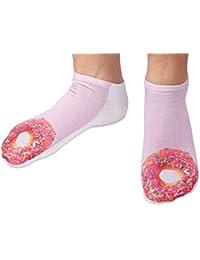 Chaussettes courtes: Socquettess avec motifs Taille: 36 - 39 pour femme ou Ados fille garçon Une petite touche d'humour, d'amour, de tendresse, de fantaisie, et surtout d'originalité