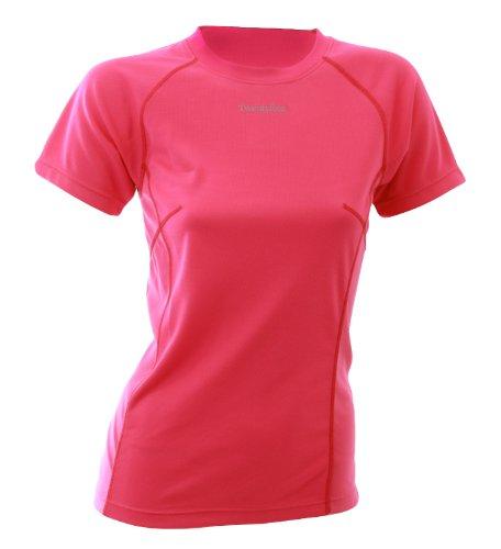 Twentyfour Seven - Maglietta corsa donna, colori freschi assortiti Rosso - Neonhimbeer