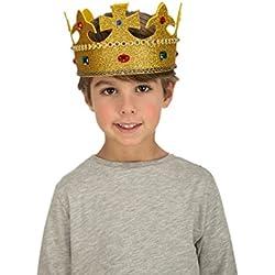 Viving Disfraces Viving 204629 Corona de Rey (55 - 60 cm, Talla única)