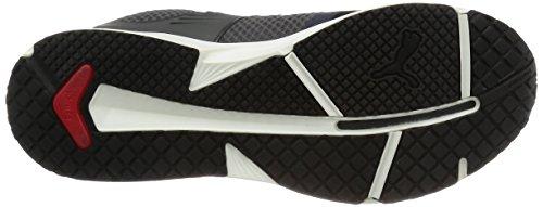 Puma IGNITE XT V2- Scarpe da Atletica Leggera Unisex Adulto Nero (BLACK-ASPHAL 03)