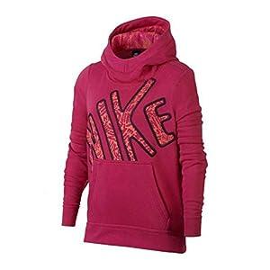 Nike G NSW Hoodie Po Club GFX2Sweatshirt, Mädchen