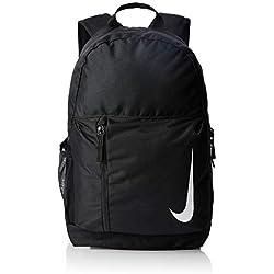 Nike Y NK Acdmy Team Bkpk Sac à Dos de Sport Mixte Adulte, Noir (Black/Black/White), 15x24x45 Centimeters (W x H x L)