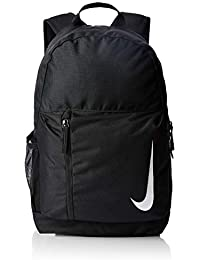 Nike Academy Team Mochila, Adultos Unisex, Black/White, One Size