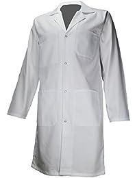 amawork PH ENFT bata blanca 100% algodón química laboratorio Medical niño College LYCEE 12 años