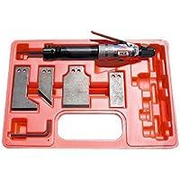 MC-2815K Kit Maletín Neumático Rascador-Formón ideal para rascar pinturas, trabajar madera, Incluye 3 muelles para regulación de la fuerza de apriete de 100 Nm a 400 Nm.