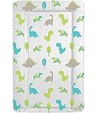Deluxe Unisex Baby wasserdicht Wickelunterlage mit Rand–Einzigartiges Dinosaurier Design