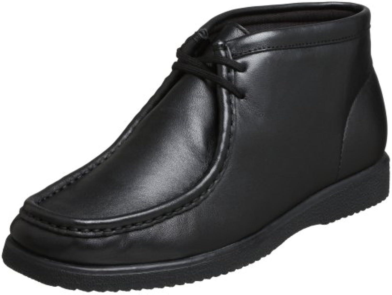 Stivale da uomo Bridgeport, pelle nera, 13 M US | Design lussureggiante  | Uomini/Donne Scarpa