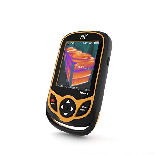Wärmebildkamera,Professionelle Infrarotkamera mit Echtzeit-Wärmebild, Infrarotbildauflösung, 220 x 160 Temperaturbereich -4 ° F bis 572 ° F, Mini-IR-Wärmebild, Batterie inklusive Thermische Usb-kamera