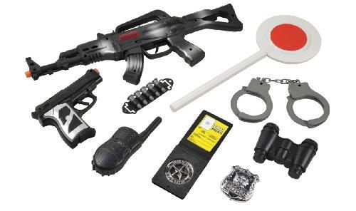 Grandi Giochi Giochi GG16102 GG16102 Set Armi Polizia Bambino 3+ Multicolore
