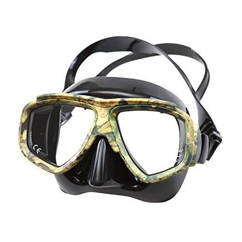 Sendgo Schnorchelmaske Camouflage Tauchen Schnorchel Maske Nearsighted