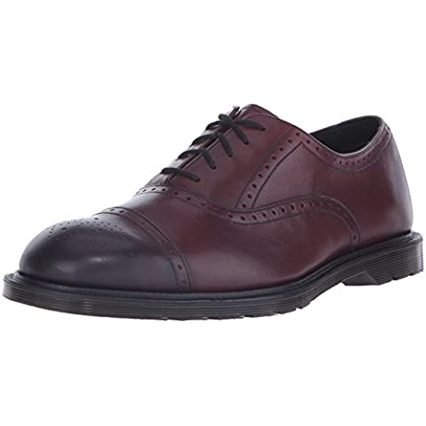 Morris Brogue Shoe - Cherry Red Antique Temperley