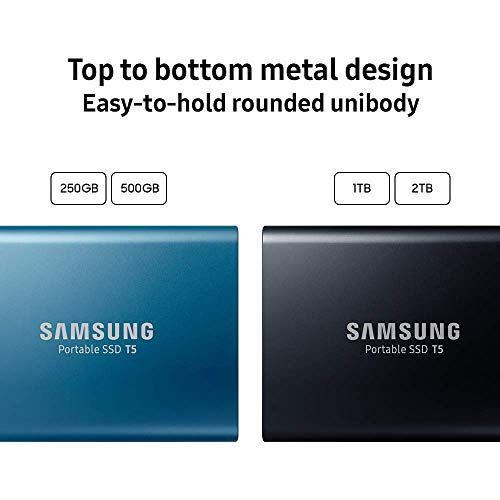 Samsung T5 Portable SSD - 250GB - USB 3.1 External SSD Image 8