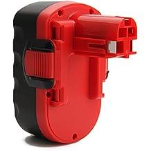 Creabest Reemplazo Batería de Ni-MH de 18V 3,0Ah para Bosch 2607335277 2607335278 2607335535 2607335536 2607335680 2607335695 2607335713 BAT025 BAT160 BAT180 13618 1644K 3860CK 52318 PSB 18 VE-2 GSB 18 VE-2 GSR 18 VE-2 PSR 18 VE-2