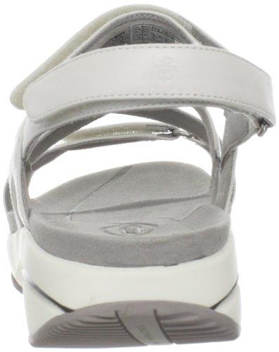 MBT Kiburi W, Sandali con cinturino Donna Blanco (bianco)