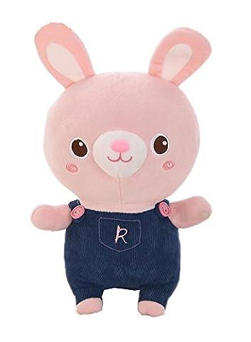 Nettes rosa Kaninchen-Form-Entwurfs-angefülltes Spielzeug (Weihnachten Angefüllte Spielwaren)