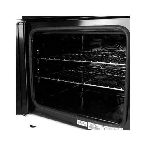 41gEbzlAVmL. SS500  - electriQ 60cm Dual Fuel Cooker with Double Oven in White