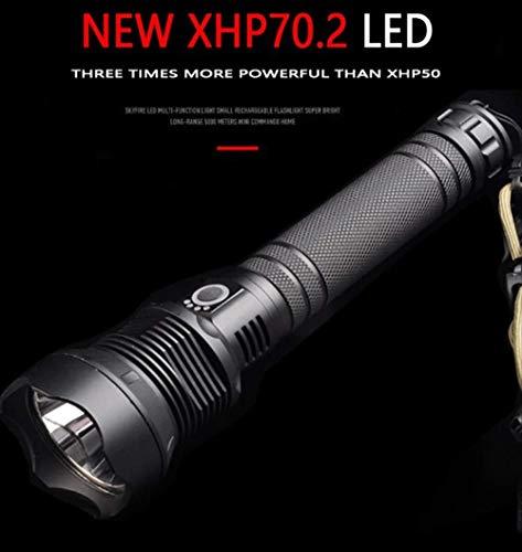 Xhp70 Más Potente Linterna Led Usb Zoom Tácticas Linterna Lámpara De Mano De Batería Recargable