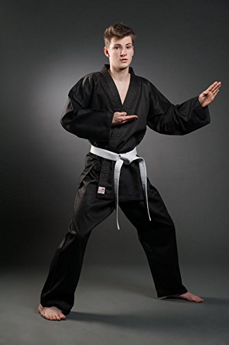 Orkansports–SV Hapkido Traje Negro, Unisex, Color, tamaño 200
