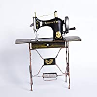 youjiu Suerte Mopec Decorativas Modelo De Máquina De Coser Retro-Vintage, Modelo De Máquina