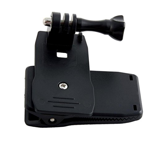 Banggood Camera Rotary Backpack Hat Belt Clip Clamp Mount For GoPro Hero 2/3/3+
