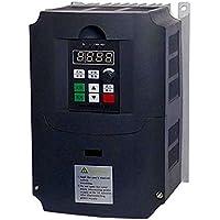 380V 5.5KW Inversor de frecuencia, monofásico Convertidor de frecuencia de 3 fases de salida del convertidor de velocidad ajustable de frecuencia de accionamiento del inversor