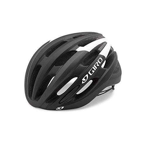 Giro Foray MIPS Rennrad Fahrrad Helm Schwarz/weiß 2019: Größe: L (59-63cm)
