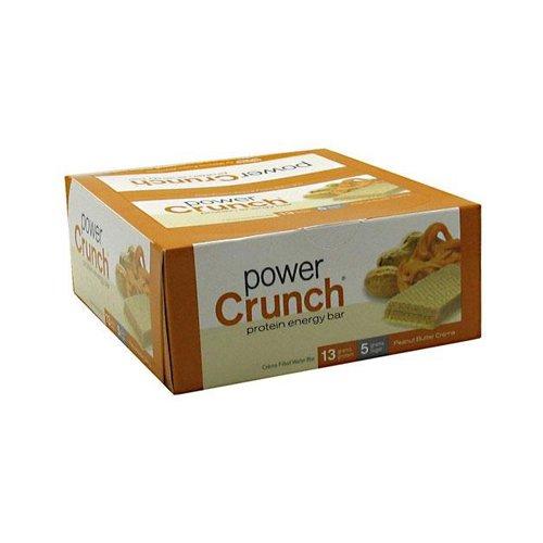 Bionutritional - power crunch wafer proteico - burro d'arachidi