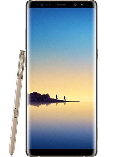 Samsung Galaxy Note 8 Dual-SIM Smartphone Entriegelt - Gold * FREE Tough Armor Schutzhülle & HANVEL® Zubehör Tasche *