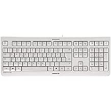 Cherry JK-0800BE-0 - Teclado, color blanco